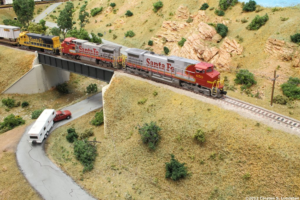 The N-scale ATSF Northern Line